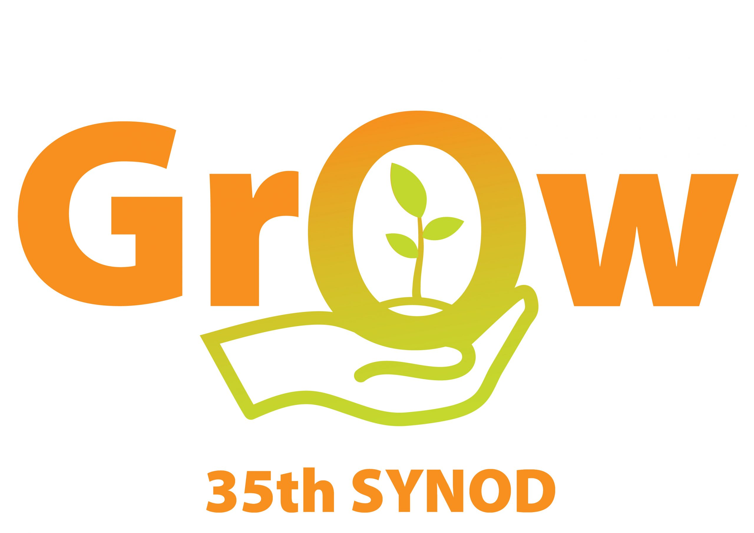 35th Synod grow logo